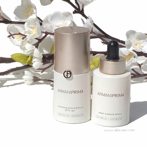 Armani Prima: Smart Moisture Serum and Nourishing Glow Enhancer Oil-in-Gel Review