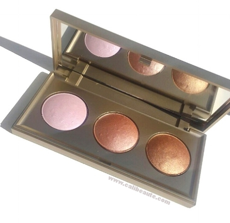 Stila Starlight Starbright Highlighting Palette: Swatches and First Impressions