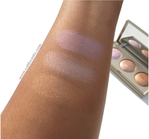 Stila Starlight Starbright Highlighting Palette: Swatches and First ...