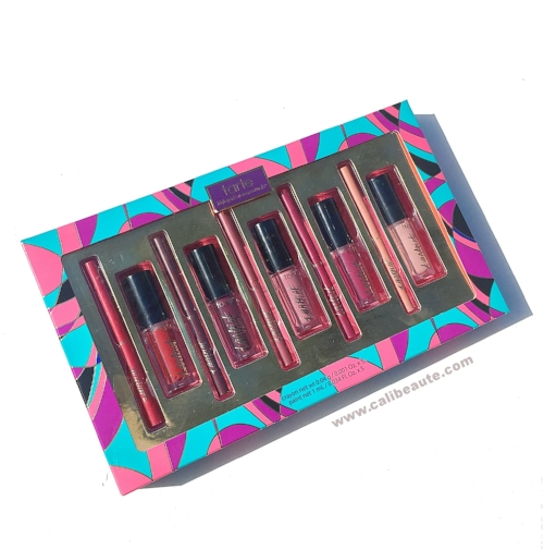 Tarte Kiss Bliss Tarteist Lip Paint and Lip Crayon Holiday set