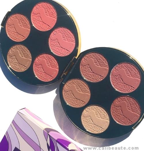 Tarte Amazonian Clay Blush Palette Color Wheel