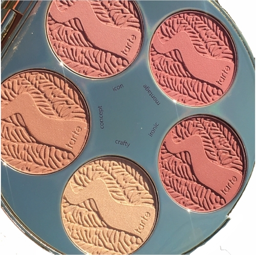 Tarte holiday 2016 Amazonian clay blush palette color wheel
