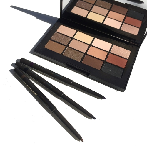 Jouer Essential Matte and Shimmer Eyeshadow Palette and Slim Creme Eyeliners