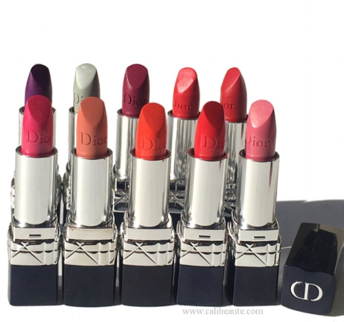 The New Dior Rouge Dior Lipstick for Fall 2016