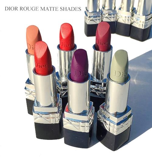 Dior Rouge Matte Lipsticks