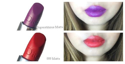 Rouge Dior Swatches