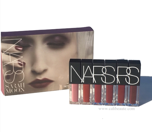 Nars Holiday 2016: Sarah Moon Mind Game Velvet Lip Glide Set