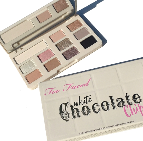 ผลการค้นหารูปภาพสำหรับ Too Faced White Chocolate Chip Eye Shadow Palette