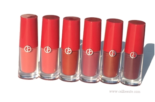 Giorgio Armani Lip Magnets: Review and Swatches