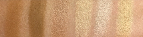 Swatches of the Strobe & Bronze Palette