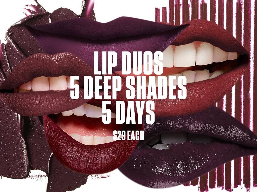 MAC Lip Duos
