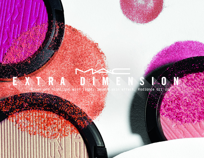 MAC Extra Dimension Skin Finish Blush and Extra Dimension Highlighter Sneak Peak