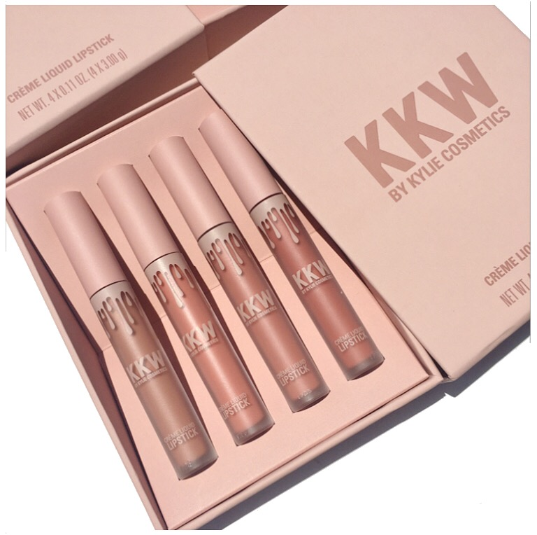 KKW x Kylie Creme Liquid Lipstick.JPG