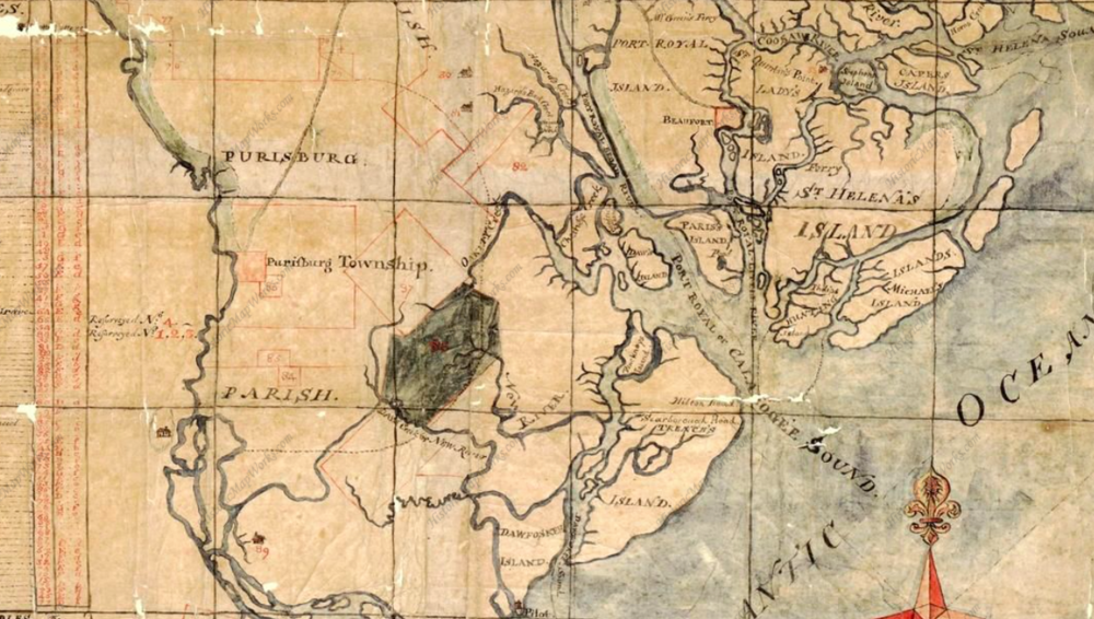 Beaufort County circa 1771.