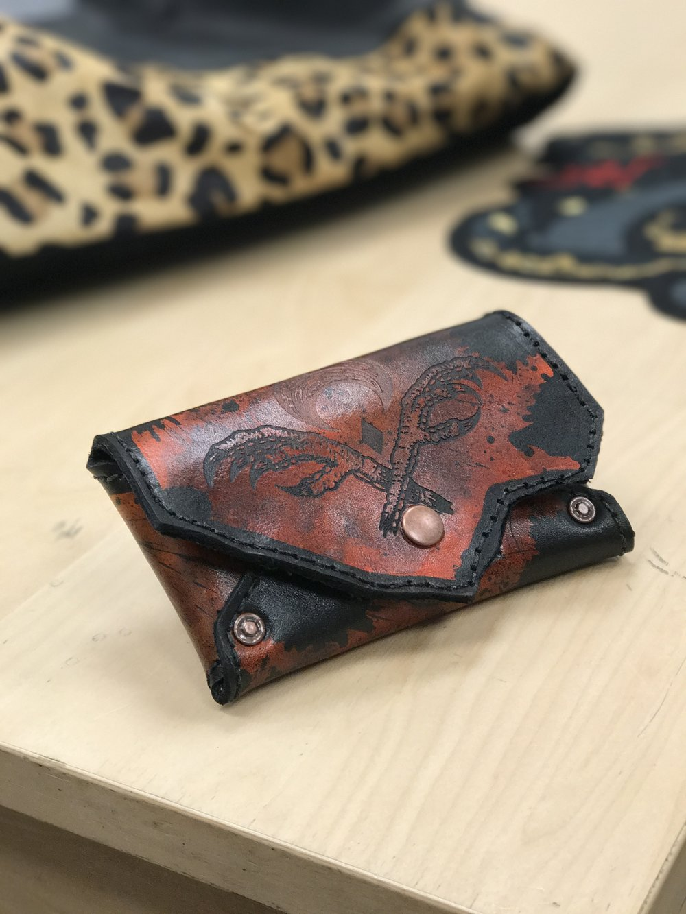 Lunation Leathers Leather Wallet Collaboration