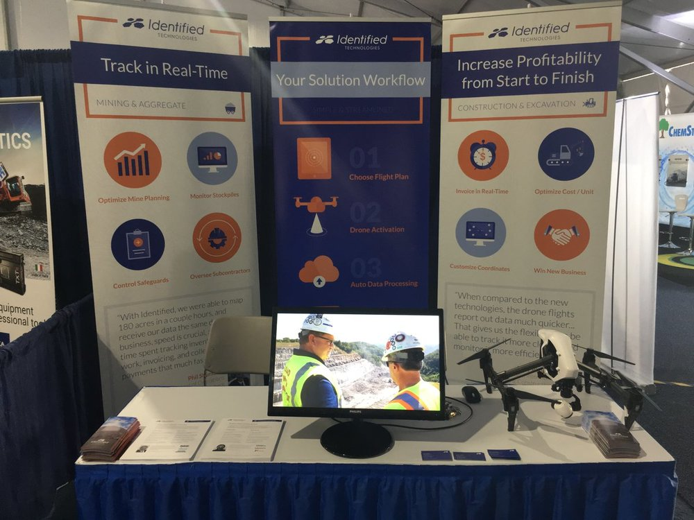 Identified Technology Trade Show Banners
