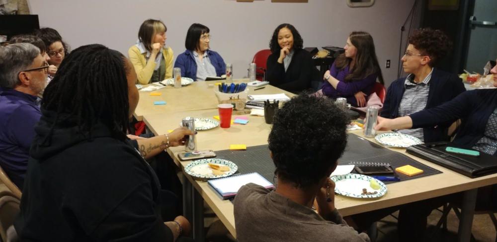 Stakeholder Meeting #1. Photo Courtesy of Erin Gatz