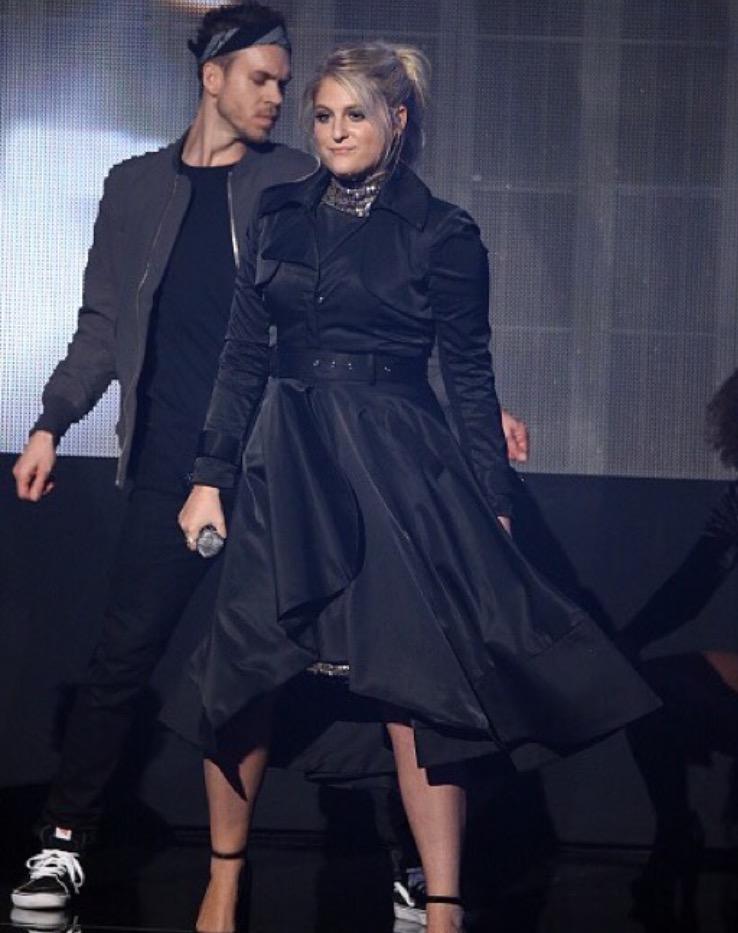 2015 American Music Awards with Meghan Trainor