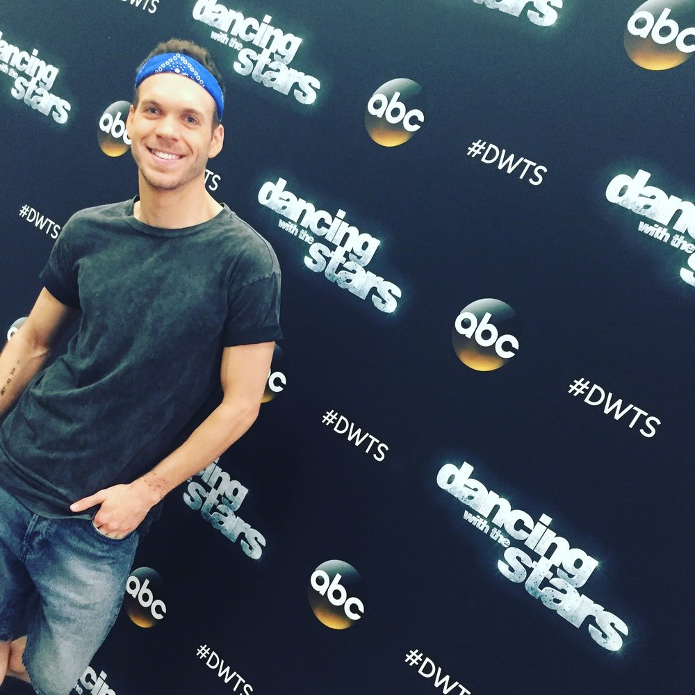 Backstage at Dancing With the Stars
