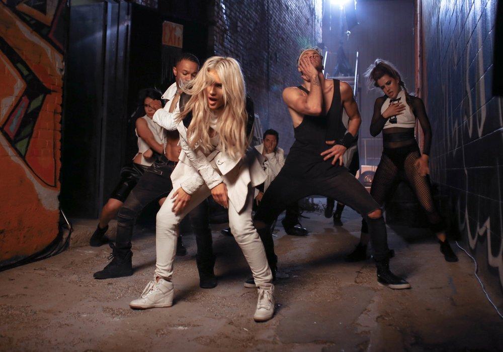 "Dancing in Jean Watts ""Spirit Animal"" Music Video"