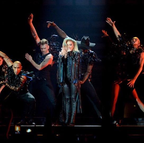 """""""John Wayne"""" at Joanne World Tour"""