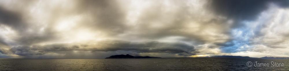 Drake Passage Storm Pano