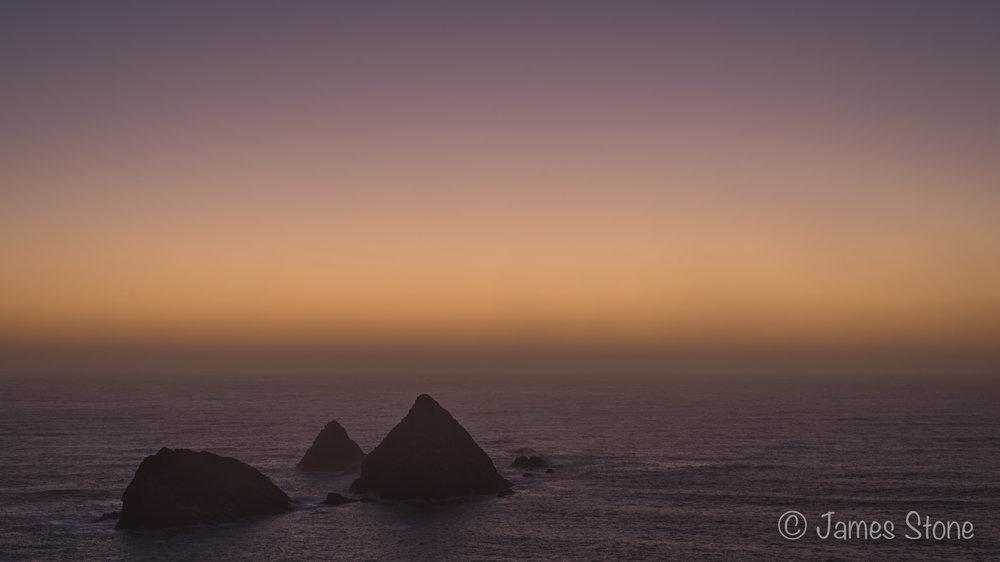 Needles sunset 2