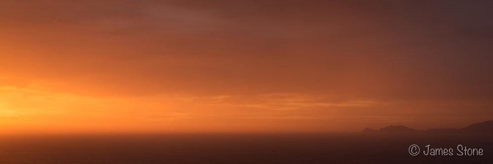 Sunset over Southwest Cape