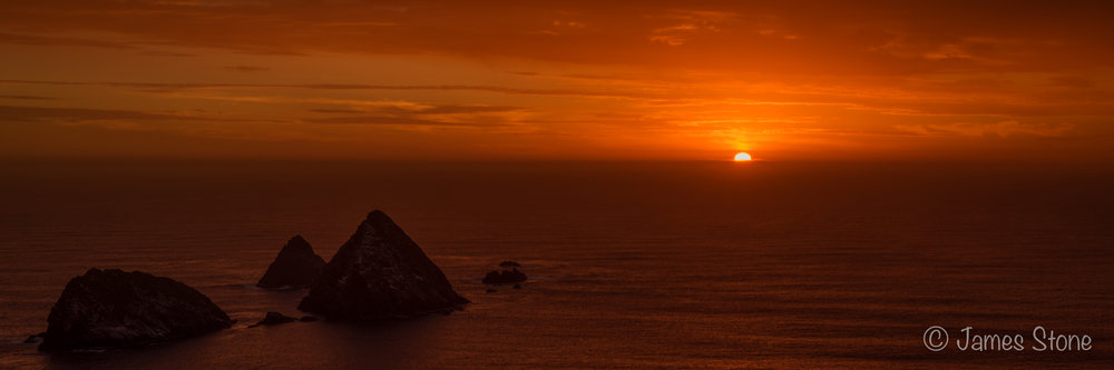 Needles sunset 1