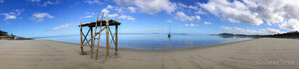 Blue Rocks, Flinders Island.