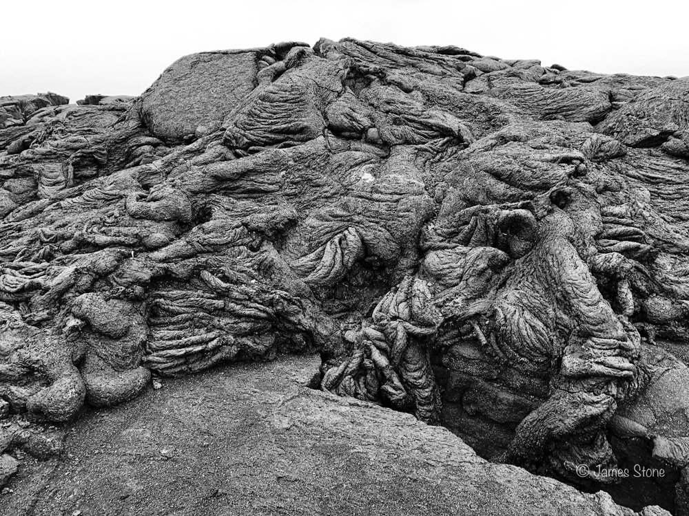 Pahoehoe lava textures 2