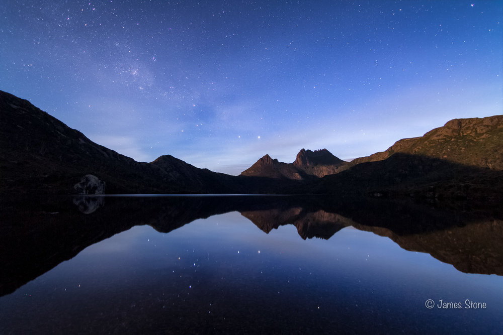 Cradle Mountain by Night