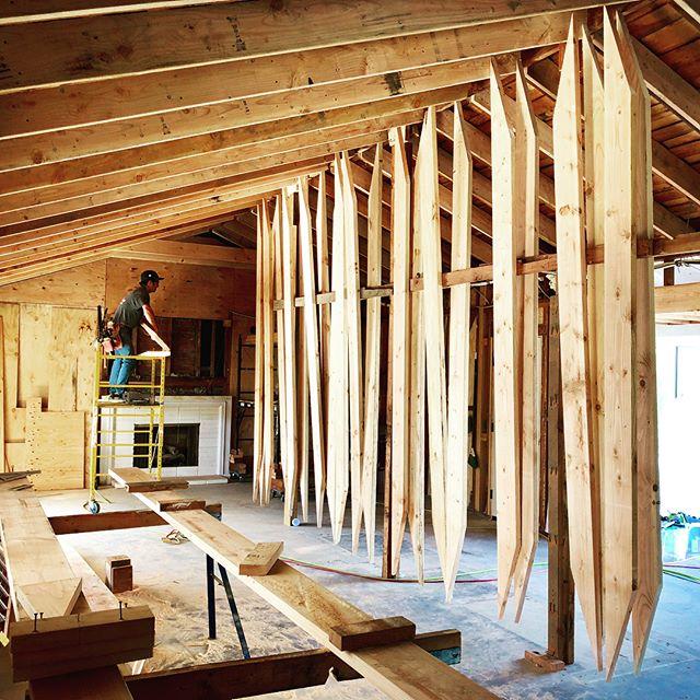 #surfview #renovation #remodel #framing #rafters #art #santabarbara #california #sb2design