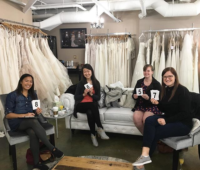 What would we do without our bridesmaids?? Tag your bridesmaids with this cute idea for finding the perfect wedding dress!!! ❤️️✨ #shesaidyes #shesaidyes💍 #shesaidyestothedress #belltownbride #belltownbrideseatle #seattlebride #seattleevents #seattlewedding #seattlephotographer #bridal #bridesmaids #bridalparty #bestfriends #instadaily #adorable #girlfriends