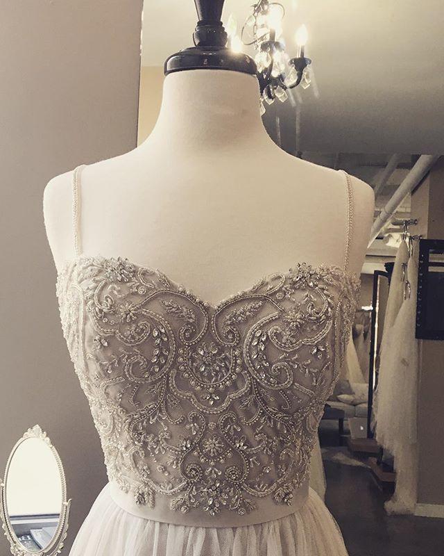 "✨ Soft sparkle romance in ""Piper"" by @casablancabridal ✨ #sparkle #weddingdress #wedding #bridal #bridalgown #belltownbride #seattlebride #seattlewedding #shesaidyes #romance #romantic"
