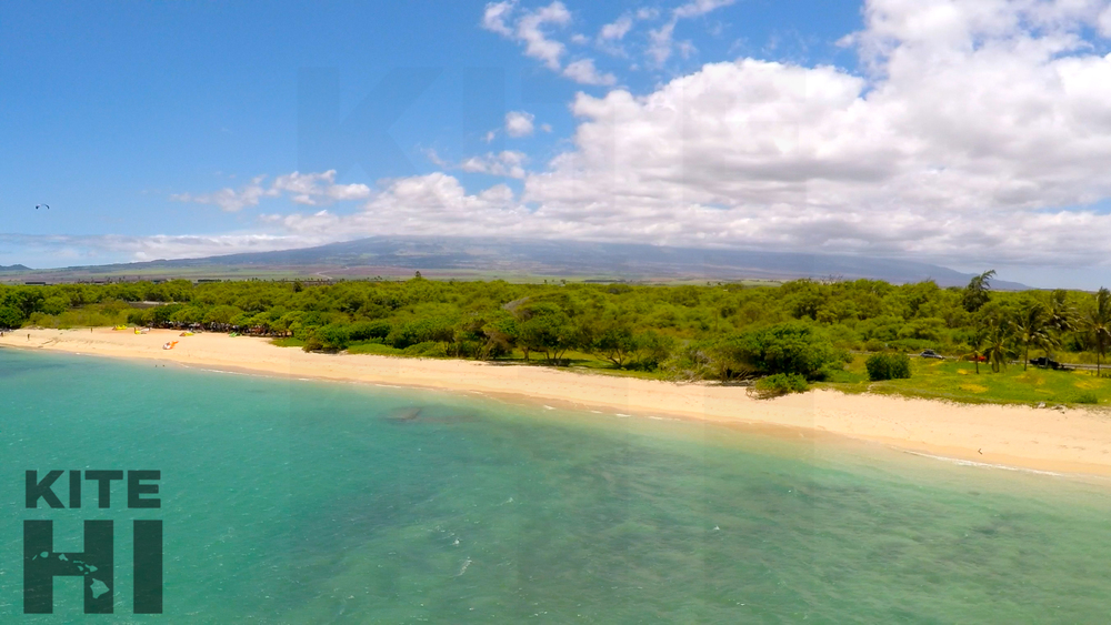 Kite beach Maui looking to Haleakala aerial.jpg