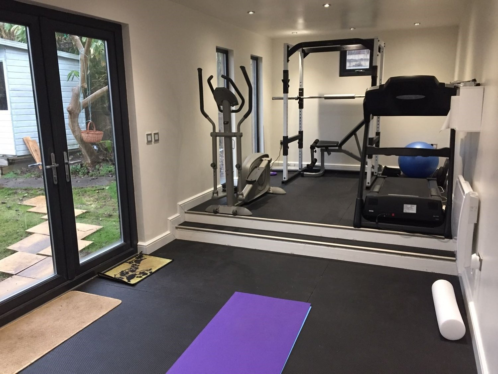 Options For Home Gyms - We can offer specialist options for home gyms, from increased floor loading capacity to fully fitted impact absorbing flooring.