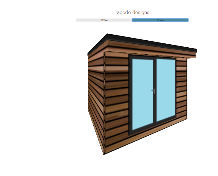 Online 3D Configurator - To arrange for a free site survey use our online 3D configurator to provide us with an initial idea of the size and style of garden room you are looking for, or alternatively complete our online consultation form.
