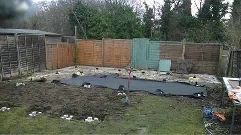 Day 1 - Groundwork commences -