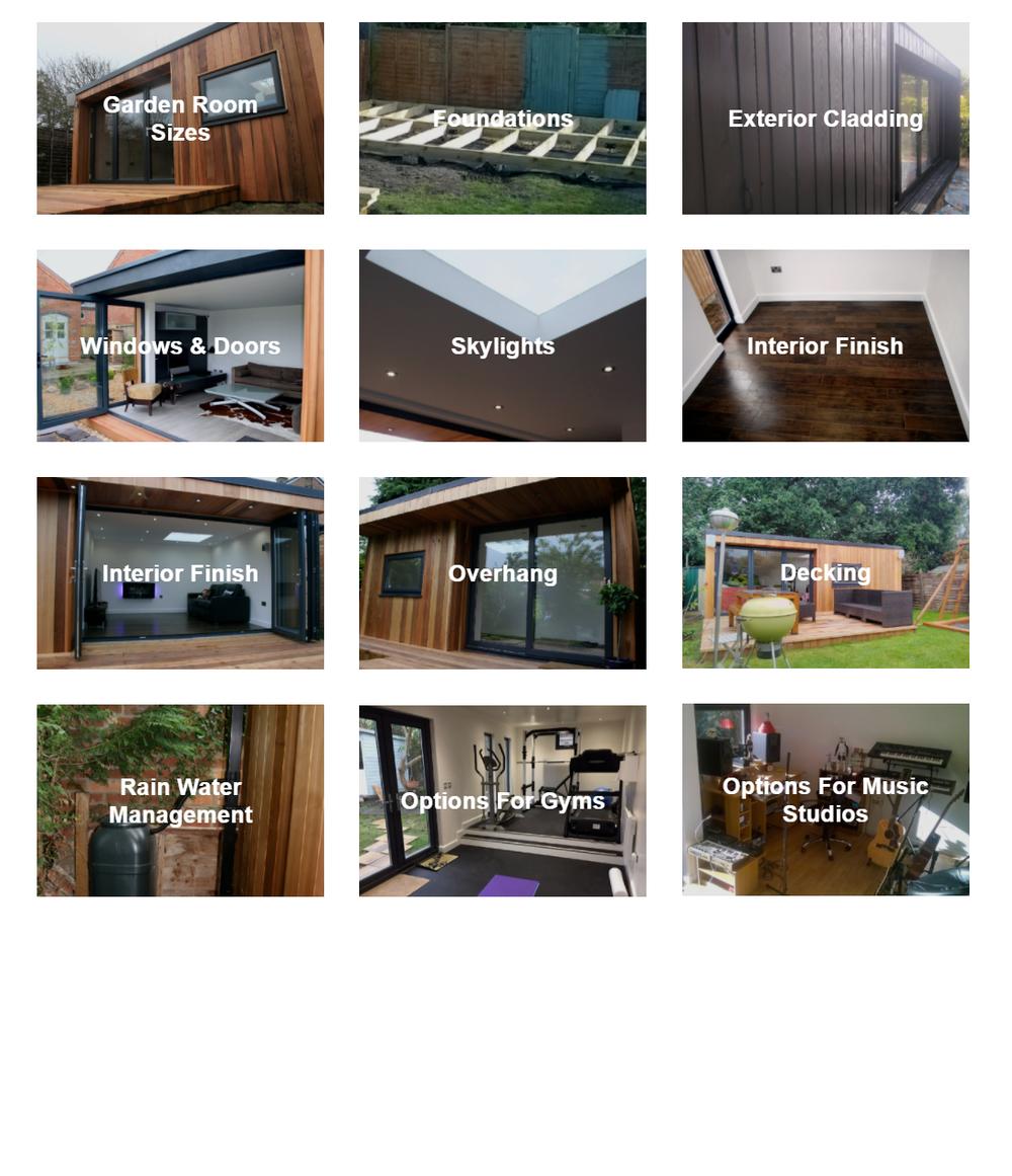 Design options -