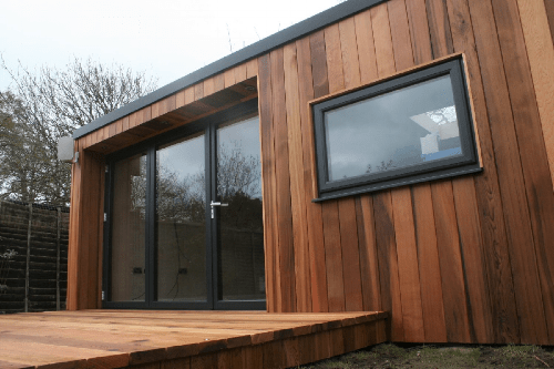 Western Red Cedar Garden Rooms -
