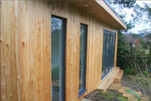Siberian Larch Garden Rooms -