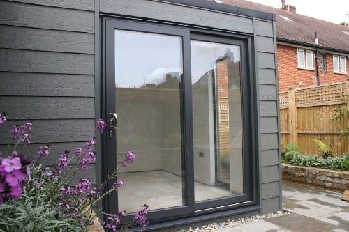 Composite Cladding Garden Rooms -