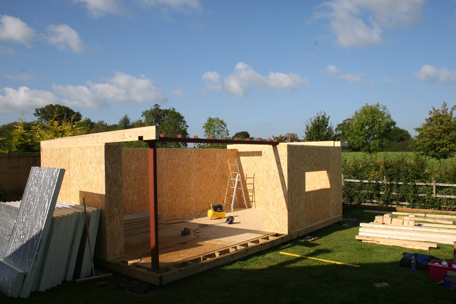 Residential Specification Materials - All of our insulated garden rooms feature the same class-leading levels of thermal performance and structural strength. We achieve this through the use of modern residential materials, the sames as you would find in the build specification of a newly built home. This ensures a solid feel to your new garden room space and longevity for your investment.