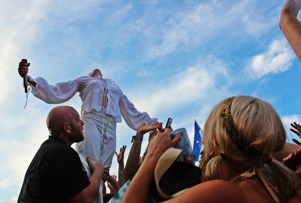 Florence and the Machine at Bonnaroo