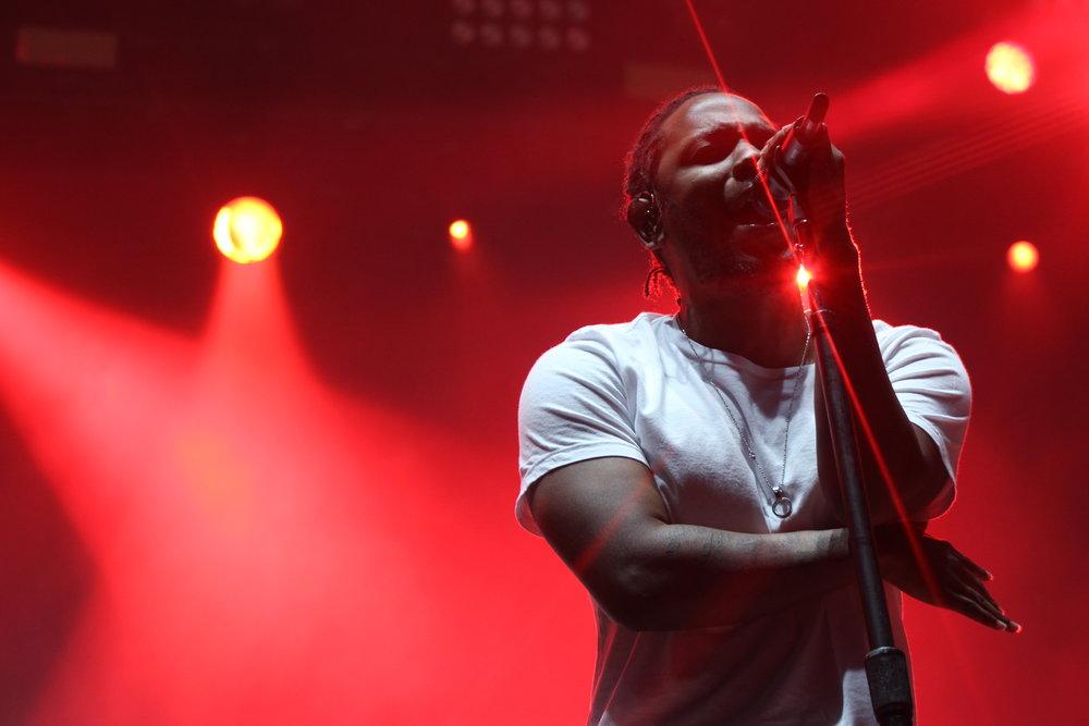 Kendrick Lamar at Okeechobee Music Festival
