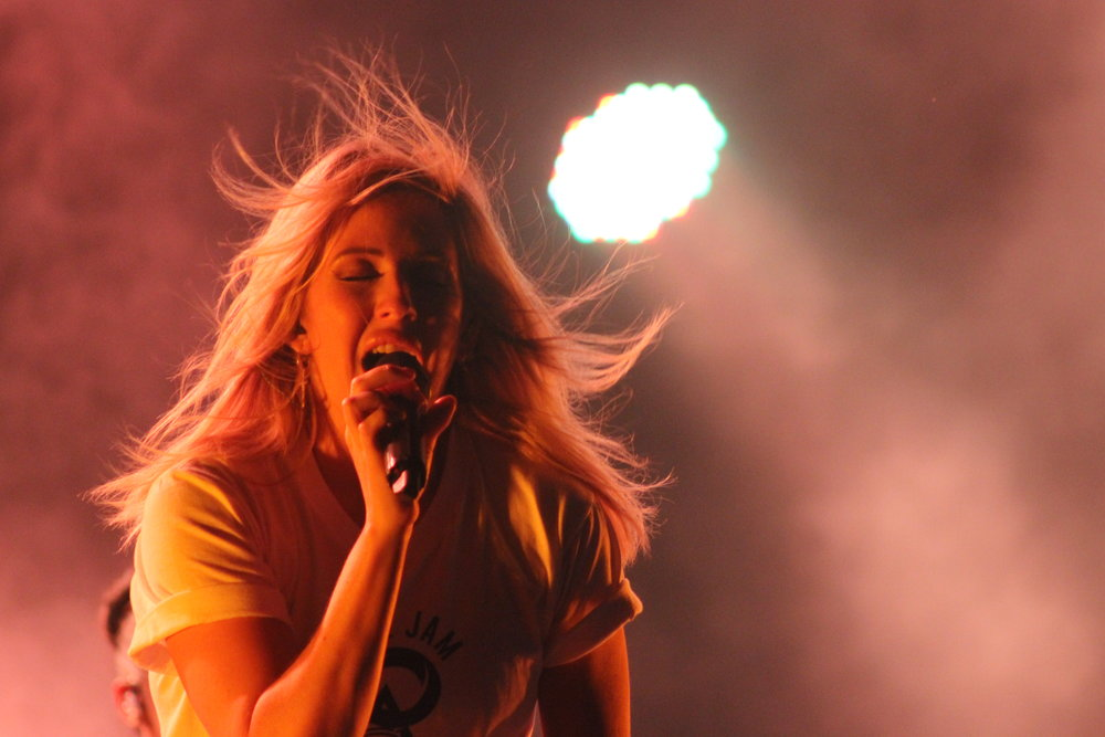 Ellie Goulding at Bonnaroo