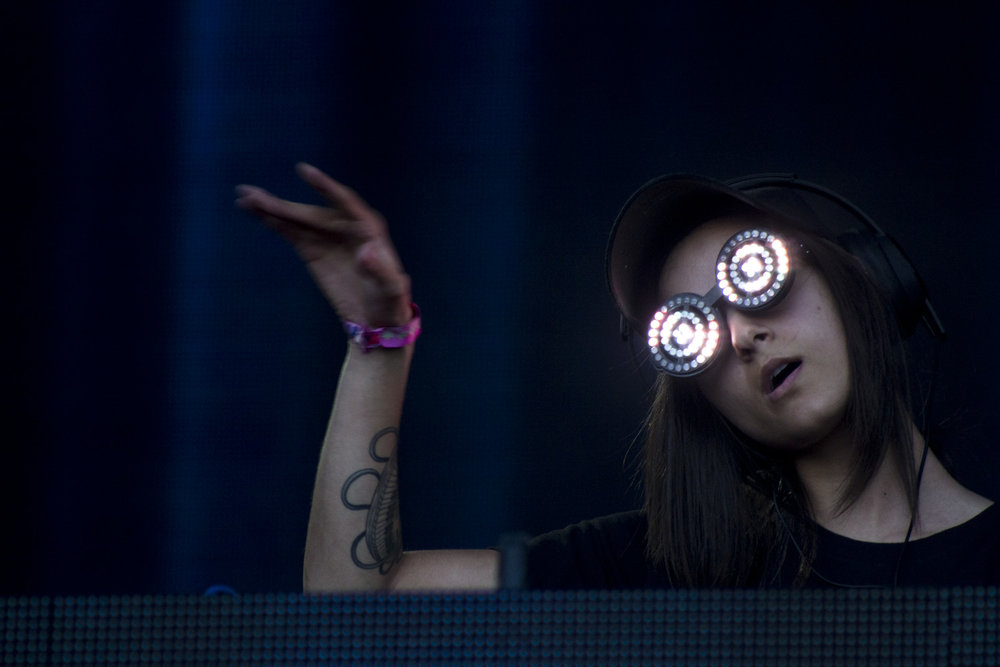 Rezz at Bonnaroo