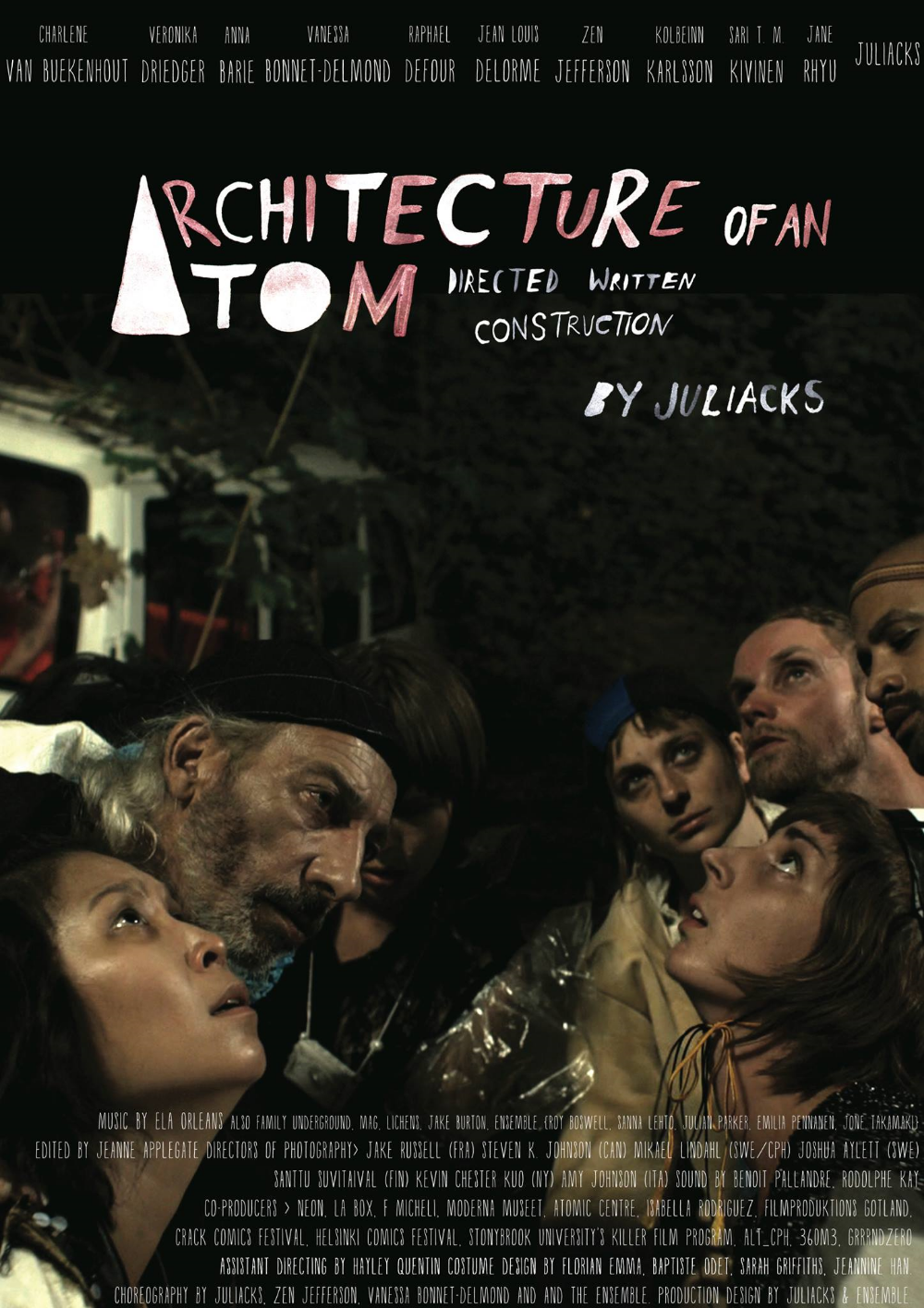 Film poster for Architecture of an Atom by JULIACKS