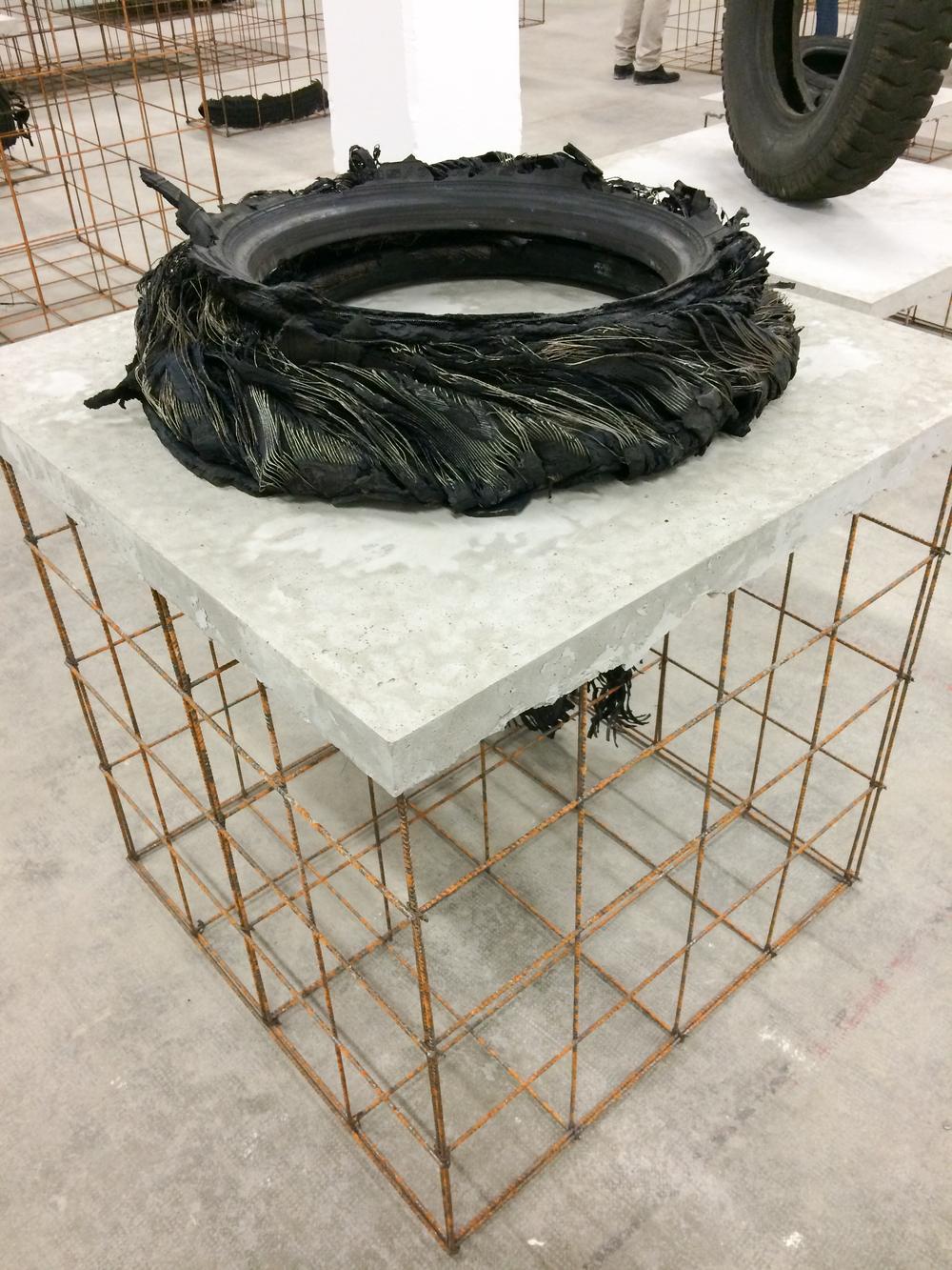 Mike Nelson,A7 (Route du soleil),Création Biennale 2015.